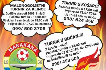 U subotu 28.srpnja peto izdanje kvartovskog druženja Marakana gori!!!