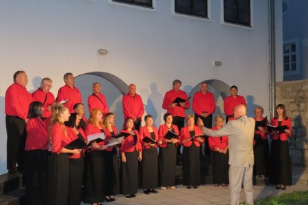 Gradski zbor Vile Velebita održao koncert povodom Dana grada Gospića!!!