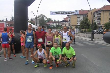 Odličan nastup ličkih trkača na maratonu u Cazinu!!!