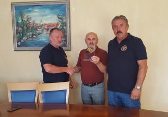 Gradonačelnik  Karlo Starčević primio Zahvalnicu veterana vojne policije