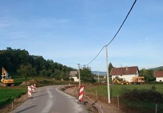 Privremena regulacija prometa u Perušiću zbog radova od mrtvačnice do Crkve sv.Križa
