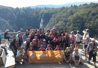 Sudionici godišnjeg kongresa Europskog udruženja studenata geografije posjetili NP Plitvička Jezera