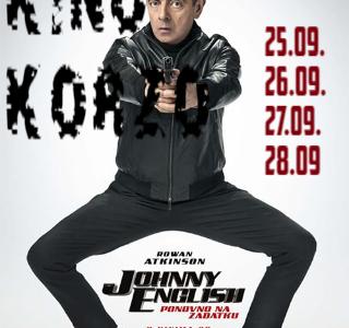 U kinu Korzo ovaj tjedan Johnny English ponovno na zadatku!!!