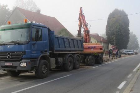 KONAČNO: Zahuktali se radovi na uređenju Budačke ulice