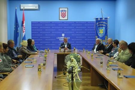 Župan Darko Milinović primio darivatelje krvi
