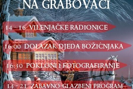 Dođite i uživajte u subotu u božićnoj čaroliji na Grabovači!!!