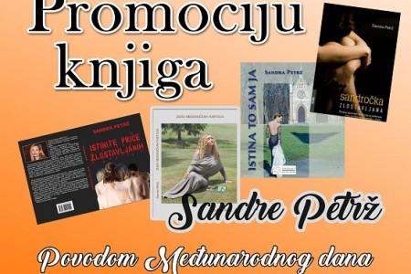 U sklopu aktivizma protiv nasilja nad ženama,  u Gospiću predstavljanje knjiga spisateljice Sandre Petrž