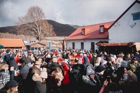 Podnevni doček nove godine na Baškim Oštarijama