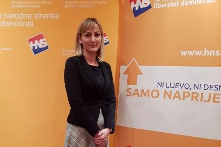 Dea Grivičić imenovana povjerenicom HNS-a u Gospiću