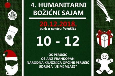 U četvrtak dođite na humanitarni Božićni sajam u Perušiću!!!