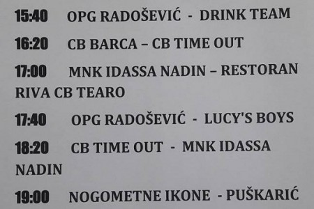 Sutra starta superjaki zimski turnir Gospić!!!