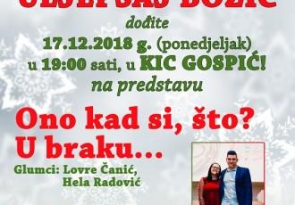 """POHVALNO: mladi Gospićanin Lovre Čanić i KIC Gospić organiziraju humanitarno akciju """"Uljepšajmo Božić!!!"""