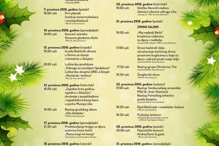 """Kreće program """"Prosinac u Gospiću""""! U Novu godinu Gospićane će pjesmom uvesti Slavonski dukati"""