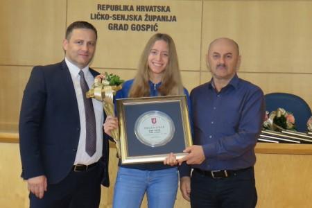 Lina Strilić najbolja sportašica, Robert Petranović sportaš Gospića u prošloj godini!!!