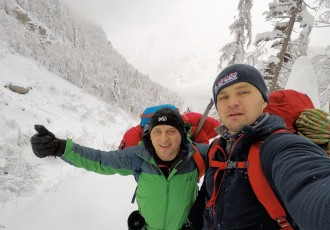 Zimski uspon Milana Krznarića i Stipe Piršljina na Kamniško-Savinjske Alpe