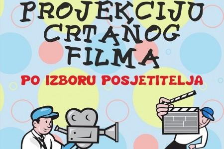 Večeras u gospićkoj knjižnici prikazivanje crtanog filma po izboru posjetitelja