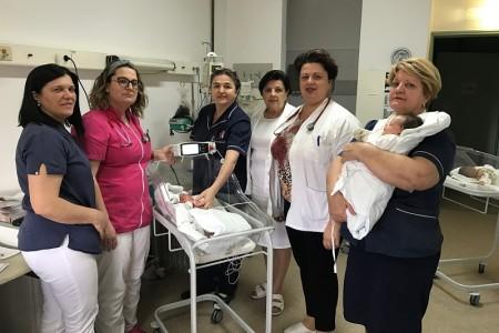 Nabavom novog aparata Rodilište gospićke bolnice svrstalo se u nacionalni vrh