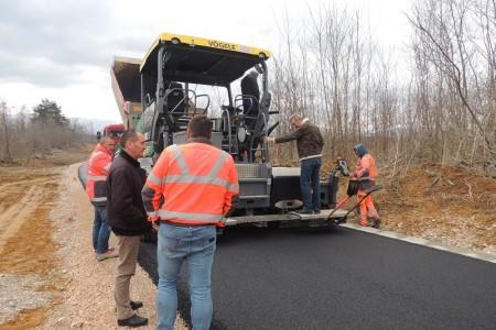 Završetak radova na rekonstrukciji prilazne ceste do odlagališta Rakitovac