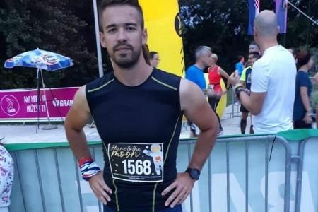 Zrinko Županić, Ogulinac u dresu atletskog kluba Gospić, odličan na zagrebačkom polumaratonu
