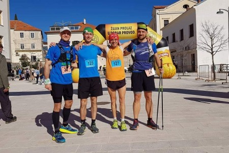 Uspješan nastup atletičara Velebita iz Gospića na Promina trail-u u Drnišu