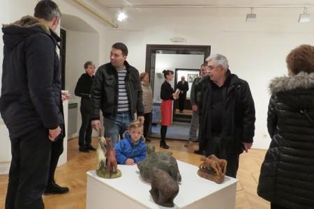 U Muzeju Like otvorena izložba radova kipara Mile Mudrovčića