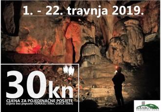 U ponedjeljak 1.travnja Pećinski park Grabovača otvara svoja vrata za posjetitelje