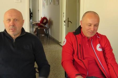 Robert Markt, izvršni predsjednik nacionalnog Crvenog križa izrazito zadovoljan radom Crvenog križa u Ličko-senjskoj županiji!!!