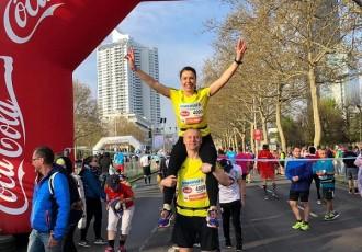 Supružnici Dijana i Marijan Butorac istrčali 36. Wienna City Marathon!!!