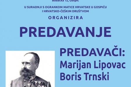 Večeras tribina o gospićkom generalu koji je osvojio BiH-a