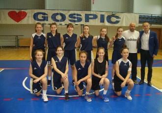 BRAVO: gospićke osnovnoškolke igraju najbolju košarku u županiji!!!