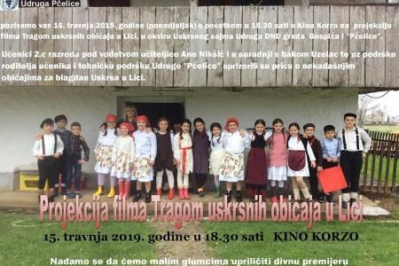 Danas u Gospiću potraga za pisanicama i dječji film o uskrsnim običajima u Lici