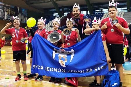 BRAVO: Dječaci 2008.godišta RK Gospić najbolji u Hrvatskoj!!!