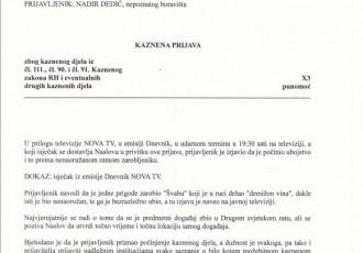 HSP kazneno prijavio partizanskog ubojicu!