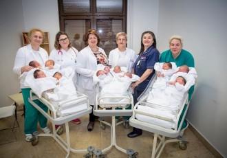 LIJEPA VIJEST- Nakon 5 godina prepunjeno rodilište gospićke bolnice!!!