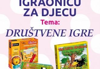"""Danas u gospićkoj knjižnici """"Društvene igre""""!"""