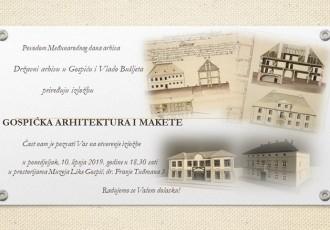 Dođite na izložbu o gospićkoj arhitekturi