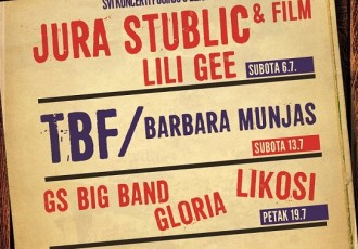 U subotu 6.srpnja legendarni Jura Stublić &Film  otvaraju GROCKS