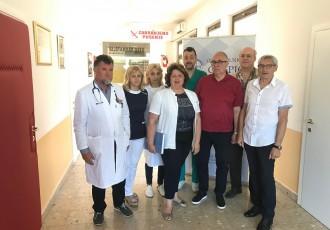 LIJEPO: Opću bolnicu Gospić posjetili doktori, zapovjednici iz ratnih dana