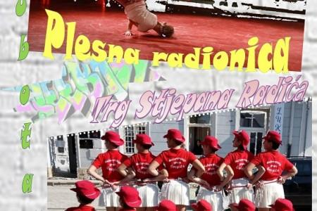 U subotu 6.srpnja na Trgu Stjepana Radića u Gospiću održat će se  plesna radionica