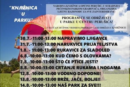 Besplatne ljetne kreativne radionice za djecu u Perušiću
