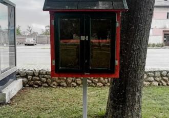 "Od sutra u parku u Perušiću ""Mala knjižnica""!"