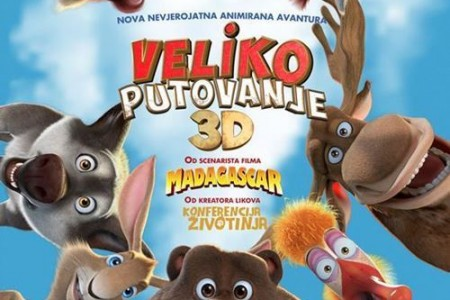 """Ovaj tjedan, sve do subote,  u kinu Korzo animirani film """"Veliko putovanje"""""""