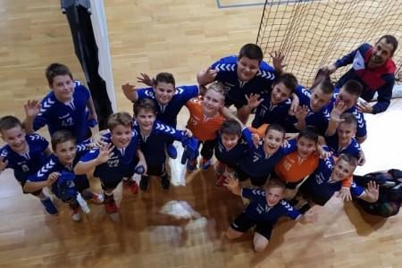 Mladi gospićki rukometaši 2008.godišta uspješni i u ligi Primorsko-goranske županije