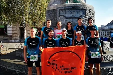 Odlični nastupi gospićkih atletičara na maratonu u Ljubljani