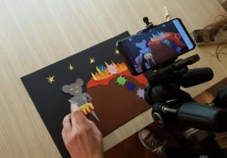 Radionica za tinejdžere  STOP animacija u KIC-u Gospić