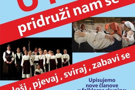 Do 29.studenoga upiši se u gospićki folklorni ansambl