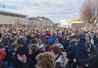 Zahvala gradonačelnika Karla Starčevića  svim sudionicima Prosinca u Gospiću