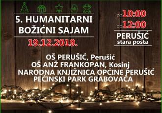 Humanitarni Božićni sajam u Perušiću