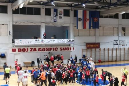 Seniori RK Gospić uvjerljivi u derbiju za sjajan završetak prvog dijela sezone