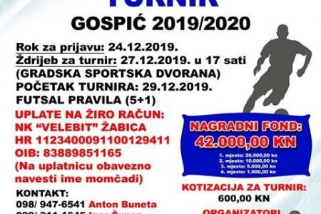 Ne zaboravite: još traju prijave ekipa za Zimski malonogometni turnir Gospić